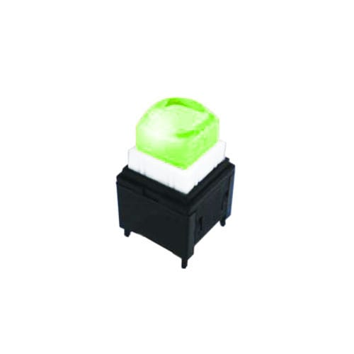 push button switch with led illumination, broadcast switch - rjs electronics ltd