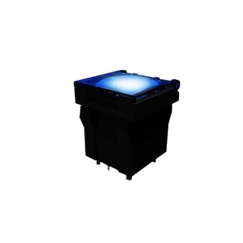 led illuminated broadcast push button switch - full illumination - RJS Electronics Ltd