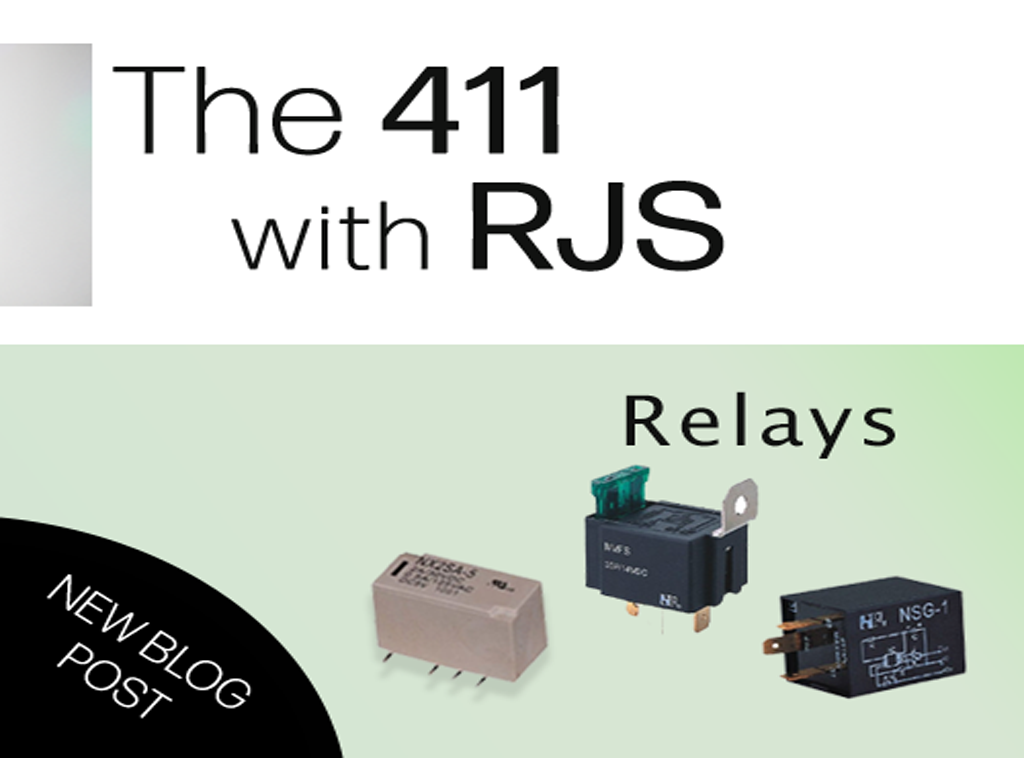 relays, different types of relays. RJS Electronics Ltd
