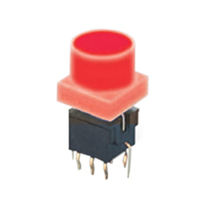 PCB, LED Illuminated, Push Button Switch, Tactile Switch with LED illumination, IP Rated, RJS Electronics Ltd.
