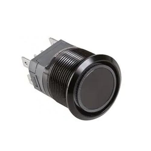 high current antivandal push button switch with led illumination, rjs electronics ltd