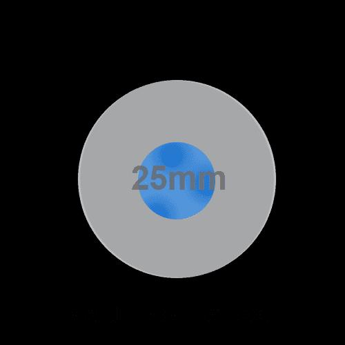 RJSX03-25L(A)-H-D~67J, 25mm push button metal switch