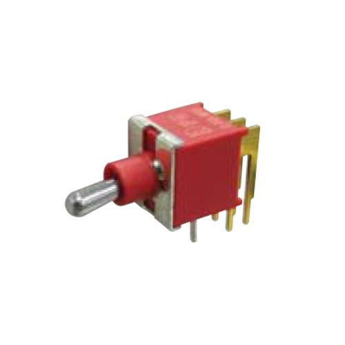 2A Series - Toggle Switches, PCB switches. M6 - DPDT - horizontal - IP67 rated - RJS ELECTRONICS LTD.