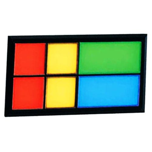 3L Multi indicator, plastic led panel indicator, rectangular