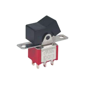 3MSeries - 3A - DPDT Rocker Switches, Panel Mount switches. RJS Electronics Ltd