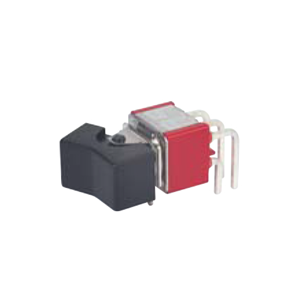 3MSeries - 3A - M7 - DPDT - HORIZONTAL - Rocker Switches, Panel Mount switches. Panel Mount, momentary functioning Rocker switches by RJS Electronics Ltd, Rocker Switches, on off switch, plastic, metal, PCB, panel mount switch, available with and without LED illumination, IP rated, miniature sealed rocker and paddle switch, SPDT – 3PDT. RJS Electronics Ltd.