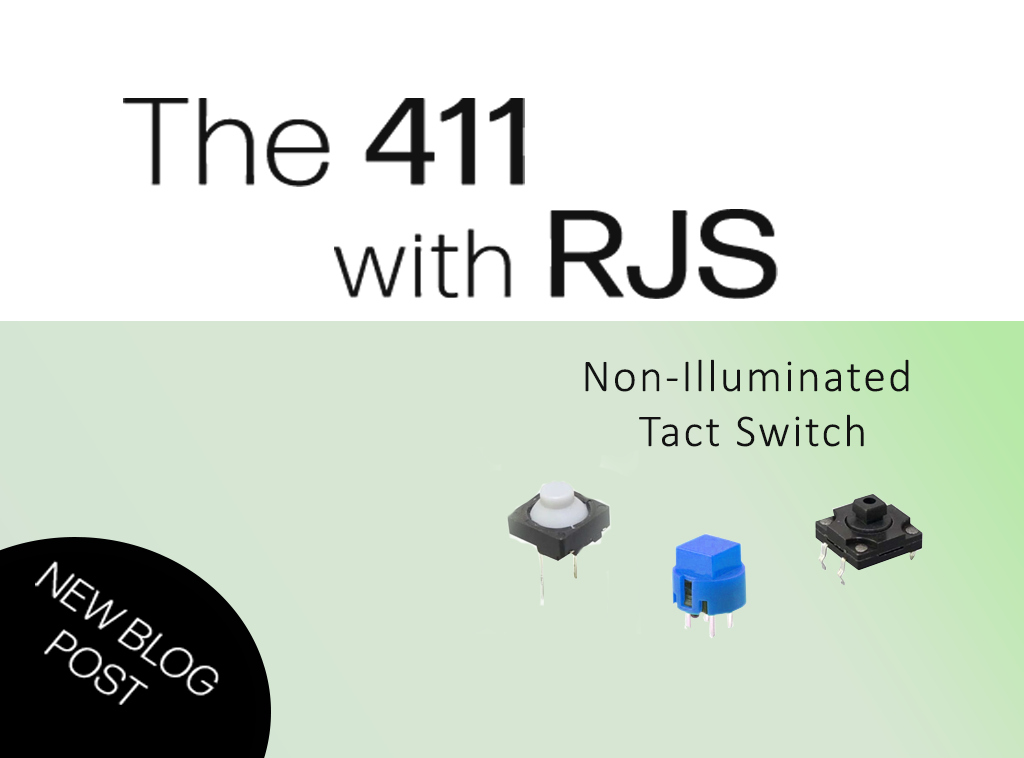 non-illuminated tact switches RJS Electronics Ltd