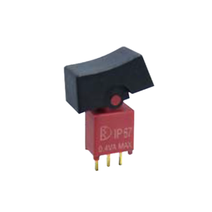 4ASeries - SPDT - Rocker Switches, Panel Mount switches. RJS Electronics Ltd, pcb, panel mount, rocker switch, switch without LED illumination, SPDT, IP67 rated, electromechanical switch, RJS Electronics Ltd.