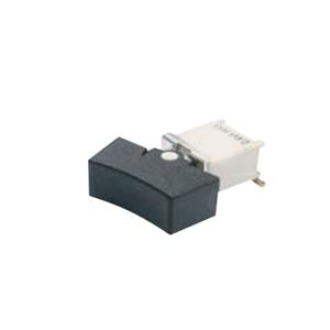 4B Series - MT - SPDT Rocker Switch- SPDT - Rocker Switches, Panel Mount switches. Drawing - RJS Electronics Ltd. PCB, panel mount, rocker switch, switch without LED illumination, SPDT, rocker switch. RJS Electronics Ltd.