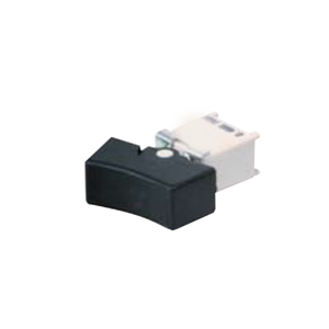 4B Series - MZ - SPDT Rocker Switch- SPDT - Rocker Switches, Panel Mount switches. Drawing - RJS Electronics Ltd. PCB, panel mount, rocker switch, switch without LED illumination, SPDT, rocker switch. RJS Electronics Ltd.
