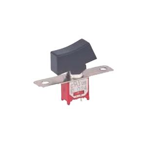 4M Series -SPDT Rocker Switch- SPDT - Rocker Switches, Panel Mount switches - RJS Electronics Ltd, Panel mount, rocker switch, switch without LED illumination, sub-miniature, rocker switch. RJS Electronics Ltd.
