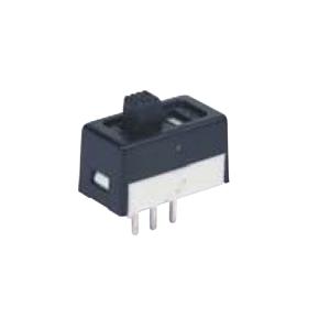 6M SLIDER SWITCH - SPDT - RJS ELECTRONICS LTD. non-illuminated slider switch,spdt, dpdt, PCB, black slider switch. RJS Electronics Ltd.