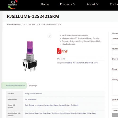 Additional information - RJS Electronics Ltd