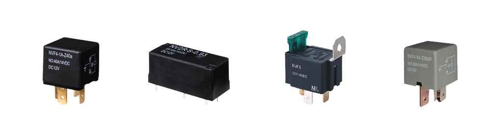 automotive relays, 5 volt, 12 volt, 24 volt, marine and automotive applications, rjs electronics ltd
