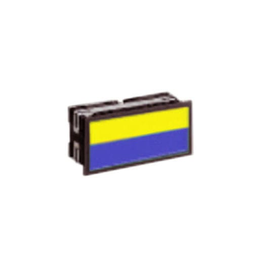 Industrial Control BL rectangular indicator blue yellow dual , split and full