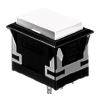 CH - Rectangular - Panel Mount, Plastic Push Button - White Single LED illumination, Bi-colour LED Illumination, RGB Illumination, ring LED illumination, dot illumination, full illumination, split face illumination, dual illumination, RJS Electronics Ltd
