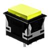 CH - Rectangular - Panel Mount, Plastic Push Button - Yellow - RJS Electronics Ltd