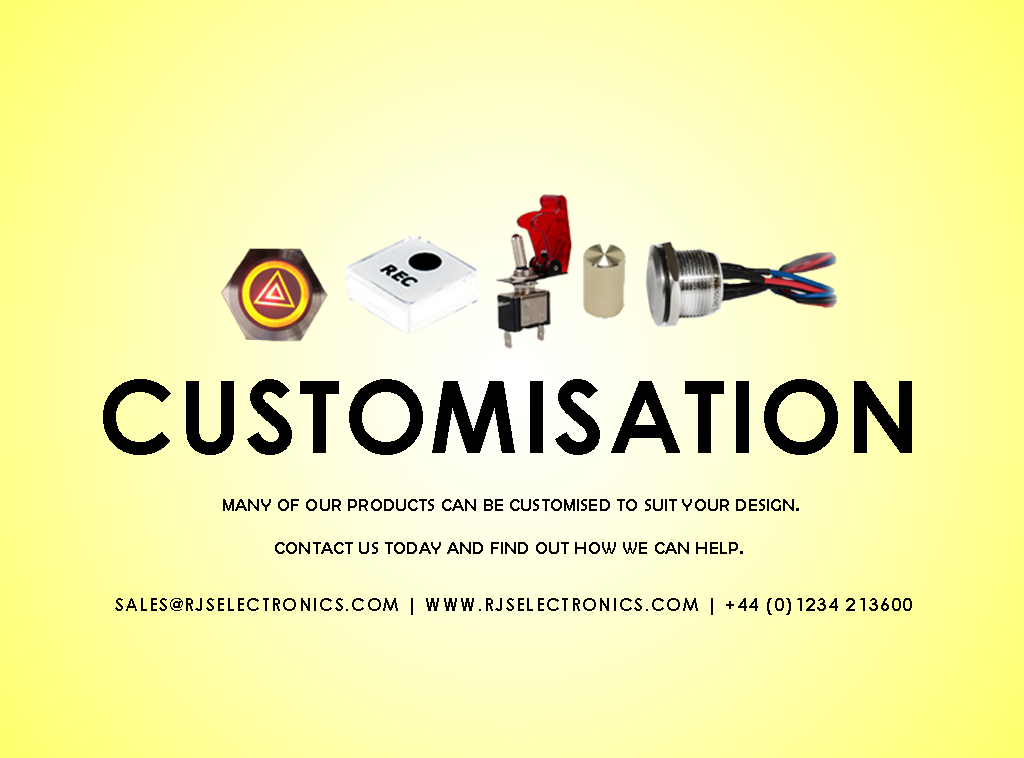 customization, customisation, push button metal switches LED etching cables knobs caps pots
