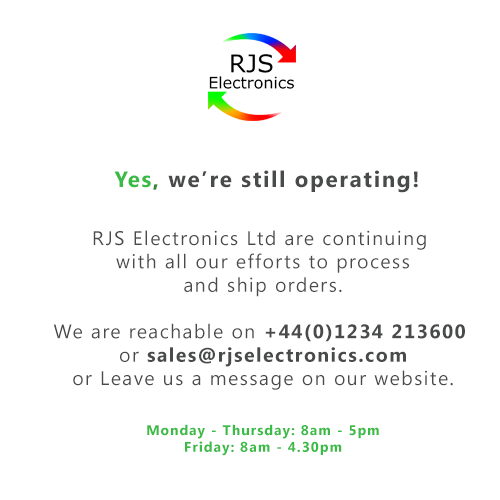 Covid-19 message RJS Electronics Ltd