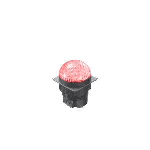 LED Indicator Panel - Domed Round Type - MLC - LED Panel Indicator - RJS Electronics Ltd.
