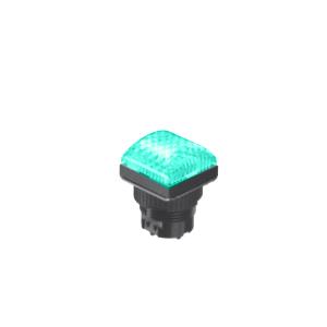LED Indicator Panel Domed Sq Type - Green - MLC - LED Panel Indicator - RJS Electronics Ltd.