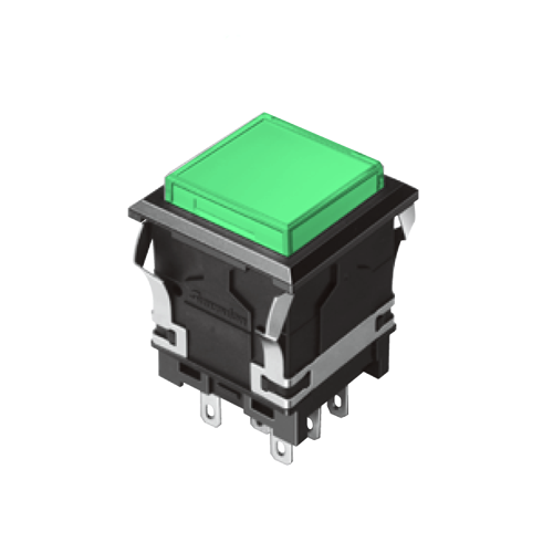 810 -EH- G - Illuminated Push Button Switch- Panel Mount, Plastic Push Button Switches - How to order - RJS Electronics Ltd
