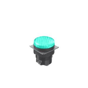 LED Indicator Panel - Flat Round Type - Green - MLC - LED Panel Indicator - RJS Electronics Ltd.