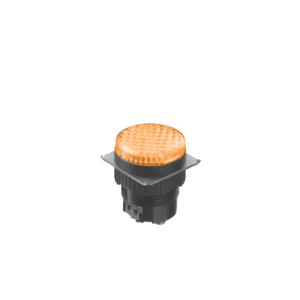 LED Indicator Panel, Flat Round Type - Yellow - MLC - LED Panel Indicator - RJS Electronics Ltd.