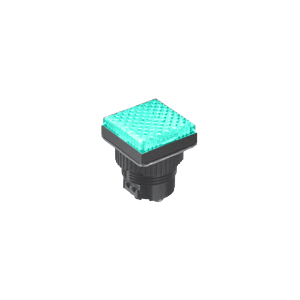 LED indicator Panel - Flat Sq Type - Green - MLC - LED Panel Indicator - RJS Electronics Ltd.