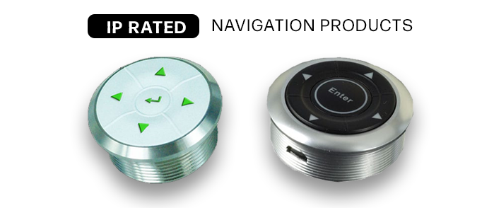 IP Rated navigation switches IP65 and IP67