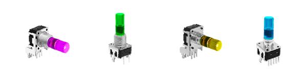LED illuminated encoders, rjs electronics ltd