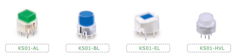 LED illuminated push button switches, RJS Electronics Ltd