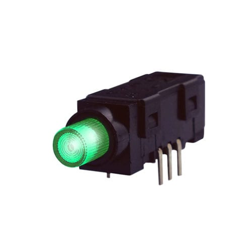 push button switch, led illuminated, non-lock, rjs electronics ltd