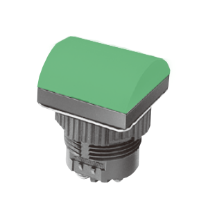 ML - Domed Square Type - Green -LED Indicator Panel - RJS Electronics Ltd.