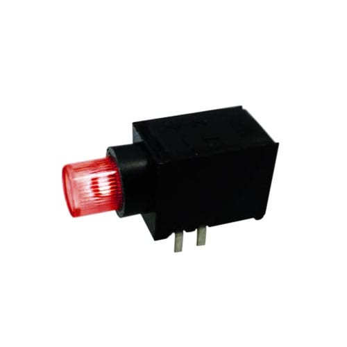 right angle push button switch with led llumination, bi-colour available, rjs electronics ltd