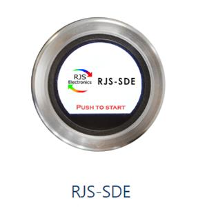 Momentary PushButton application, full screen TFT Roatry Encoder, RJS-SDE, RJS ELECTRONICS LTD.