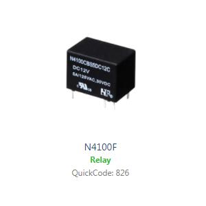 Relays switches, heavy duty, RJS Electronics Ltd.
