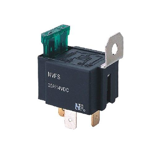 Relays, pcb mount, automotive relays, NVFS-1, rjs electronics ltd