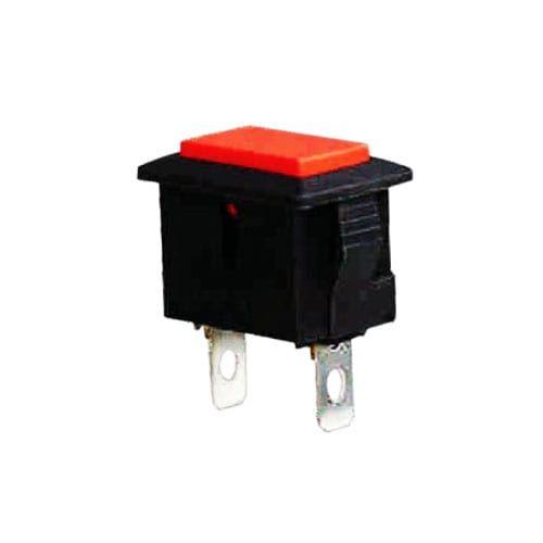 PSB Footswitch Red pushbutton panel mount foot switch