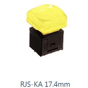 PCB Pushbutton Switch, KA 17.4mm, Momentary Switch RJS Electronics Ltd