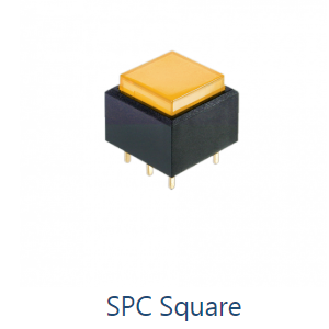PCB Pushbutton Switch, SPC Square - Momentary v. Latching - RJS Electronics Ltd