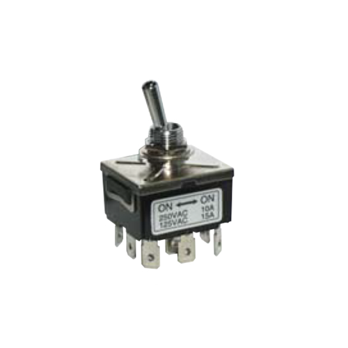 PCB- Toggle Switches- LPO SERIES - 3PDT-PCB, Panel mount, Toggle Switches, IP rated, without LED illumination, guards and accessories available. Miniature toggle switch, sealed waterproof toggle switch, sub-miniature toggle switches, ultraminiature toggle switches. RJS Electronics Ltd.