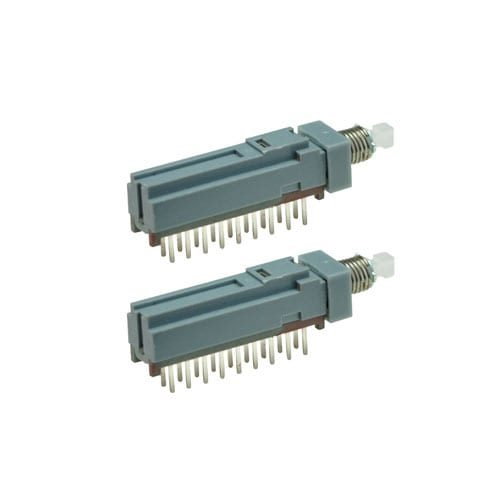 push button switch, pcb mount, non-illuminated, rjs electronics ltd