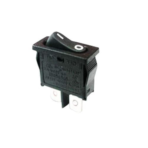 R6 ROCKER SWITCH BLACK CUSTOM