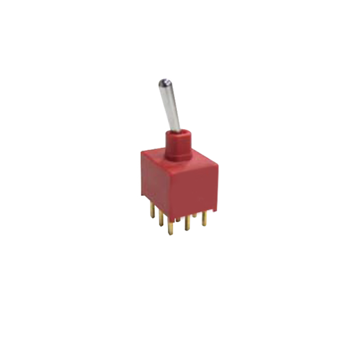 TOGGLE & ROCKER SWITCH, RJS-1A-3PDT, PCB, Panel mount, Toggle Switches, IP rated, without LED illumination, guards and accessories available. Miniature toggle switch, sealed waterproof toggle switch, sub-miniature toggle switches, ultraminiature toggle switches. Horizontal, right angle, vertical toggle switch. RJS Electronics Ltd.