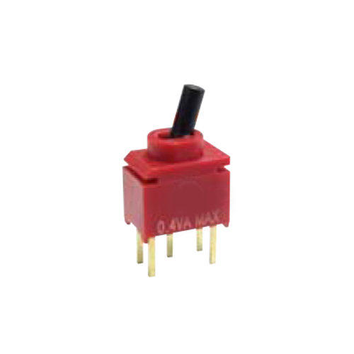 RJS 2U M2 toggle switch, PCB, Panel mount, Toggle Switches, IP rated, without LED illumination, guards and accessories available. Miniature toggle switch, sealed waterproof toggle switch, sub-miniature toggle switches, ultraminiature toggle switches. Horizontal, right angle, vertical toggle switch. RJS Electronics Ltd.
