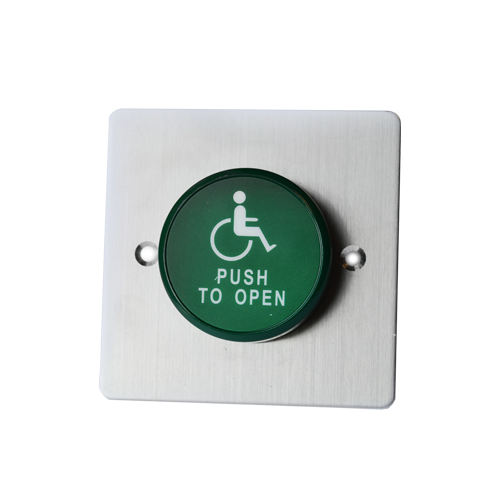 rjs electronics ltd, door exit panel with exit, available in aluminium and stainless steel.