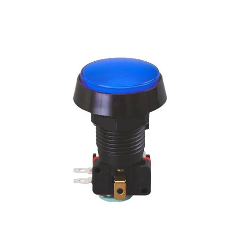 led illuminated gaming button, momentary function, rjs electronics ltd