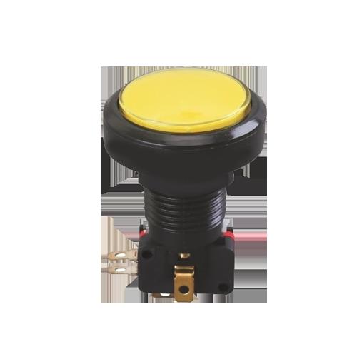 LED illuminated push button gaming switch, rjs electronics ltd