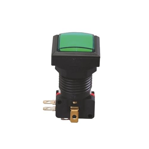 gaming button, full led illumination, momentary function, rjs electronics ltd